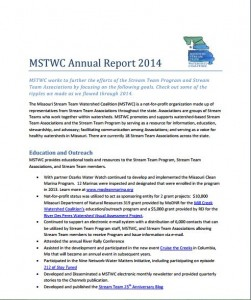 annual report - mstwc